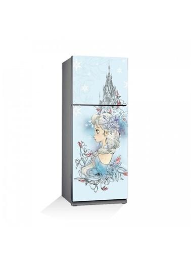Disney Frozen-1 Buzdolabı Sticker Renkli